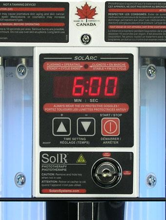 Minuterie et interrupteur principal Solarc série E