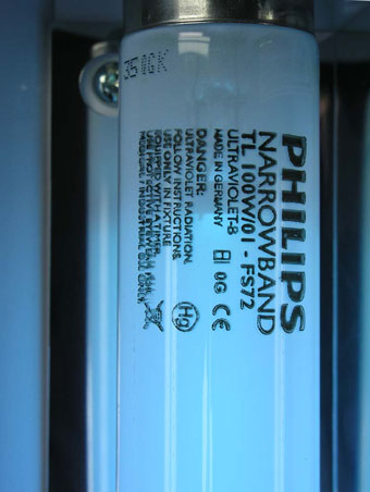 Philips TL100W/01-FS72 phototherapy lamps