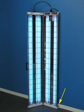 s2 352 multidirectional uvb narrowband psoriasis lamp