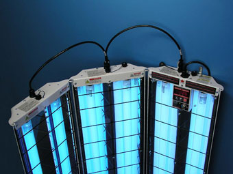 s3 444 multidirectional uvb narrowband psoriasis lamp