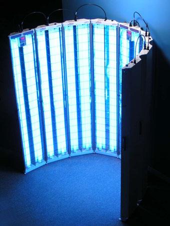 s4 036 multidirectional uvb narrowband psoriasis lamp