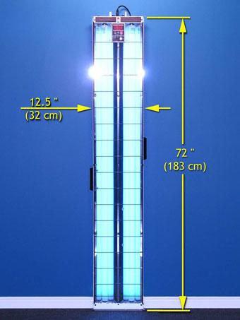 s5 376 multidirectional uvb narrowband psoriasis lamp