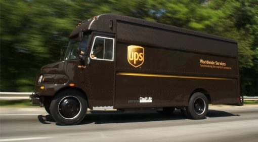 UPS Truck Beyond Point Shipping Surcharge