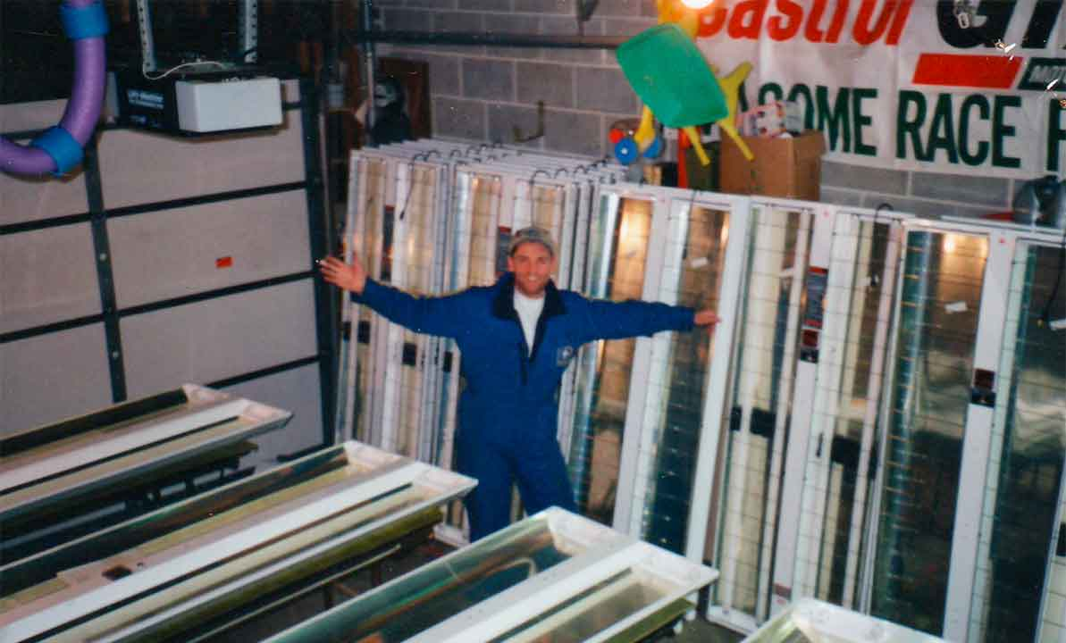 Bruce Elliott en la década de 1990