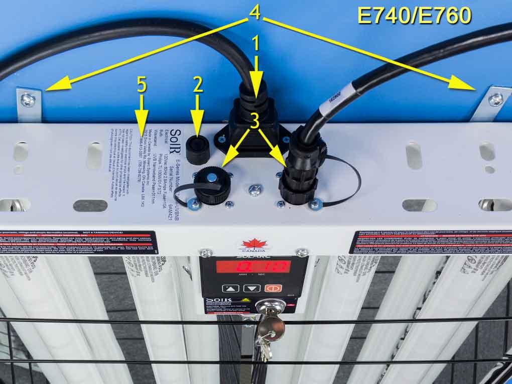E740M Top Cap Diagram 7 SolRx E-Series