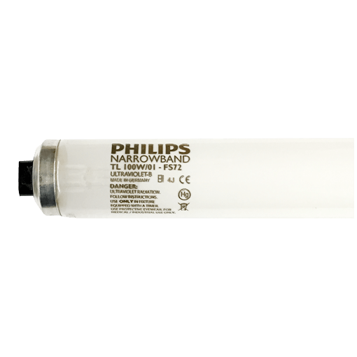 Philips TL100W/01-FS72 6ft UVB-Narrowvand ultraviolet phototherapy lamp