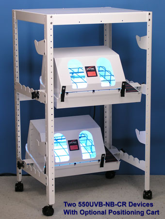 hand and foot phototherapy 550UVB-NB-CR