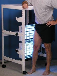 leg treatment 550UVB-NB-CR