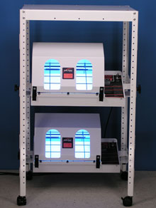 phototherapy cart