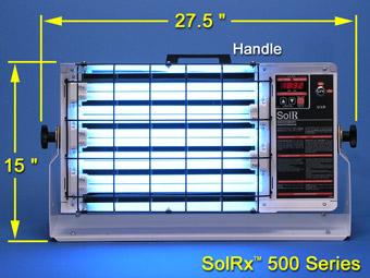 uvb narrowband 1153b Solrx 500-Series