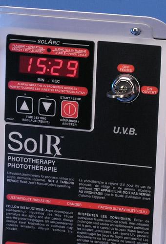 uvb narrowband 1164a Solrx 500-Series