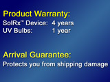 warranty 1000b Solrx 500-Series